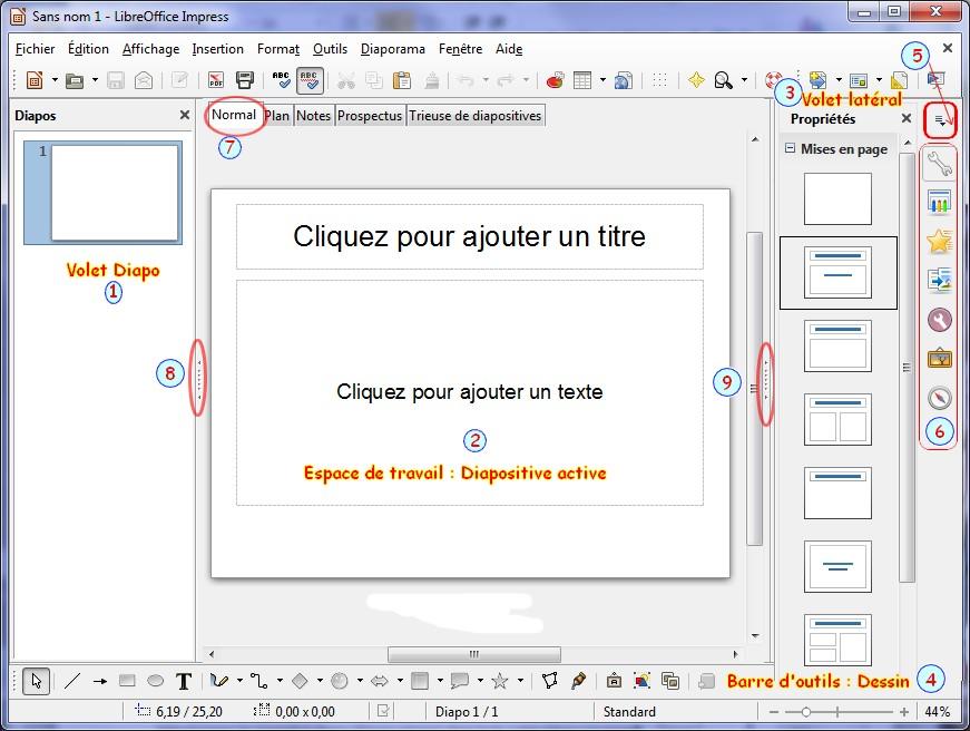 Fen tre d 39 accueil pr sentation libo - Libre office pour windows ...